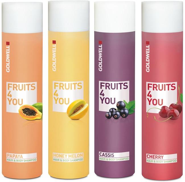 Szampon owocowy do włosów Goldwell Fruits 4 You