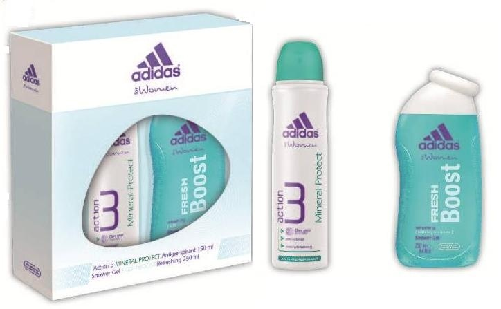 Antyperspirant damski Adidas Action 3 Mineral Protect Antiperspirant 150 ml