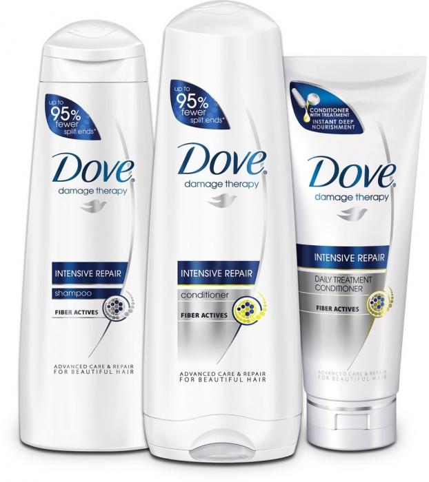 Odżywka do włosów suchych i zniszczonych Dove Intense Repair