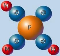 Czysty kwas ortofosforowy należy do grupy nieorganicznych kwasów tlenowych. Jego wzór chemiczny to H3PO4. Fot. chemia.website.pl