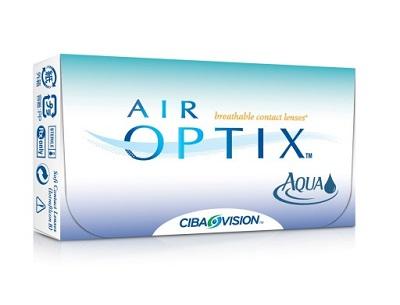 soczewki kontaktowe miesięczne Air Optix Aqua