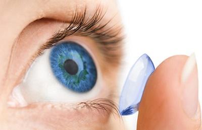 soczewki kontaktowe powiększające oczy