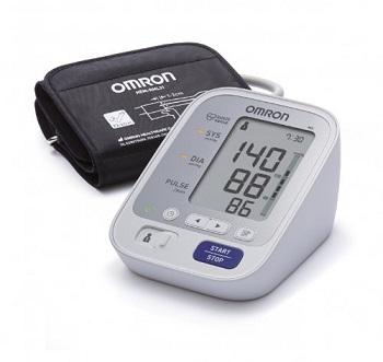 automatyczny aparat do mierzenia ciśnienia marki Omron z wyświetlaczem elektronicznym