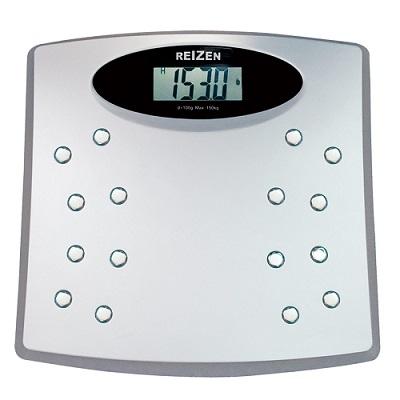 elektroniczna waga łazienkowa z wyświetlaczem LCD